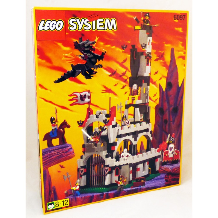 LEGO Castle Sets: Fright Knights 6097 Night Lord's Castle NEW
