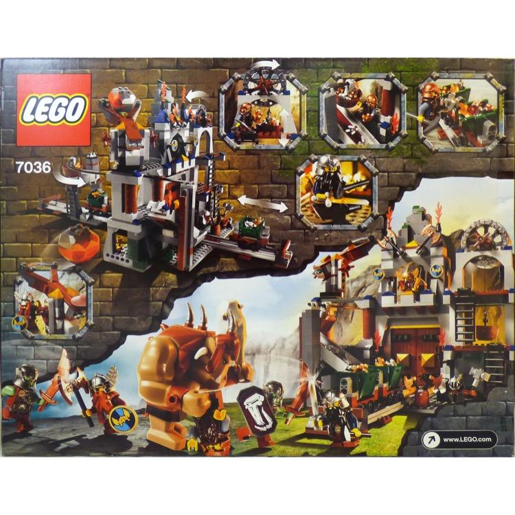Lego Castle Sets Dwarves And Trolls 7036 Dwarves Mine New Rough