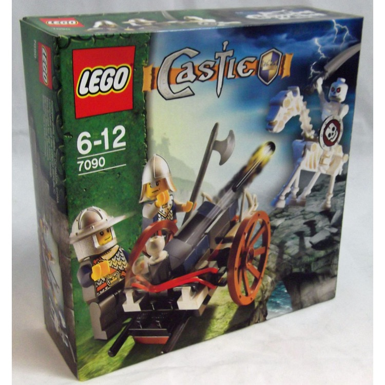 Lego Castle Sets Skeleton Army 7090 Crossbow Attack New