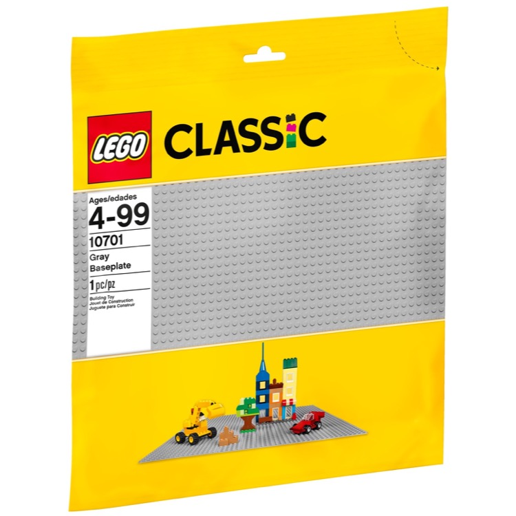 LEGO Classic Sets: 10701 Gray Baseplate NEW