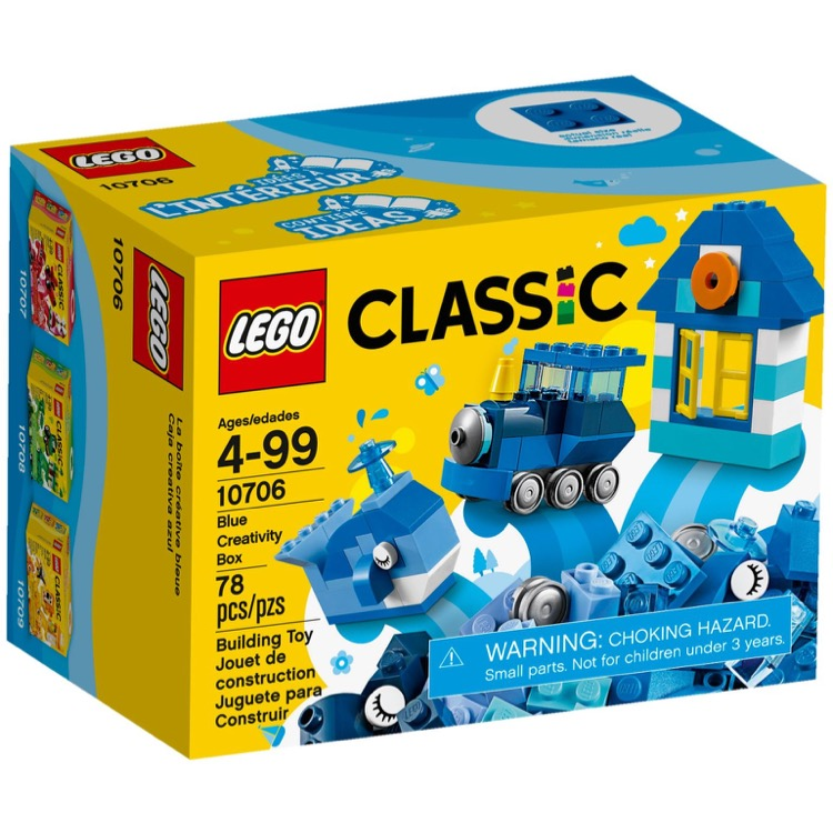 LEGO Classic Sets: 10706 Blue Creative Box NEW