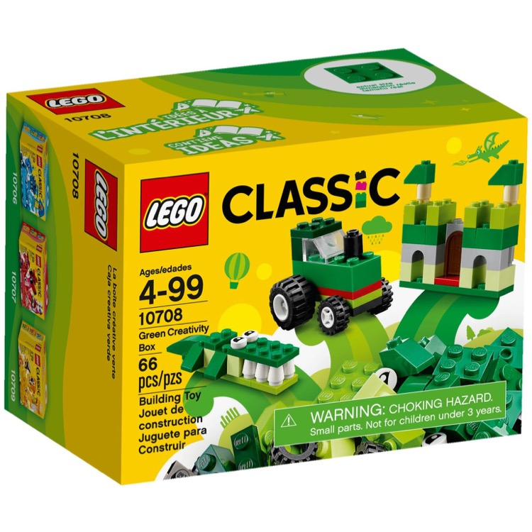 LEGO Classic Sets: 10708 Green Creative Box NEW