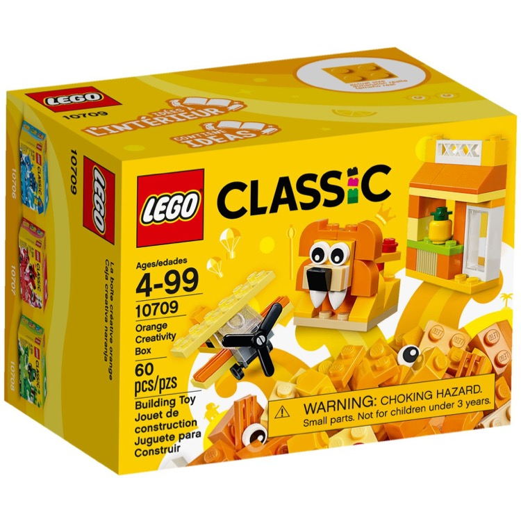 LEGO Classic Sets: 10709 Orange Creative Box NEW