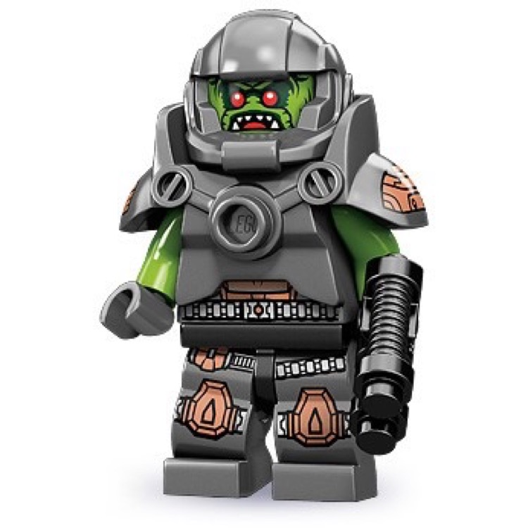 LEGO Collectible Minifigures: 71000 Series 9 Alien Avenger NEW