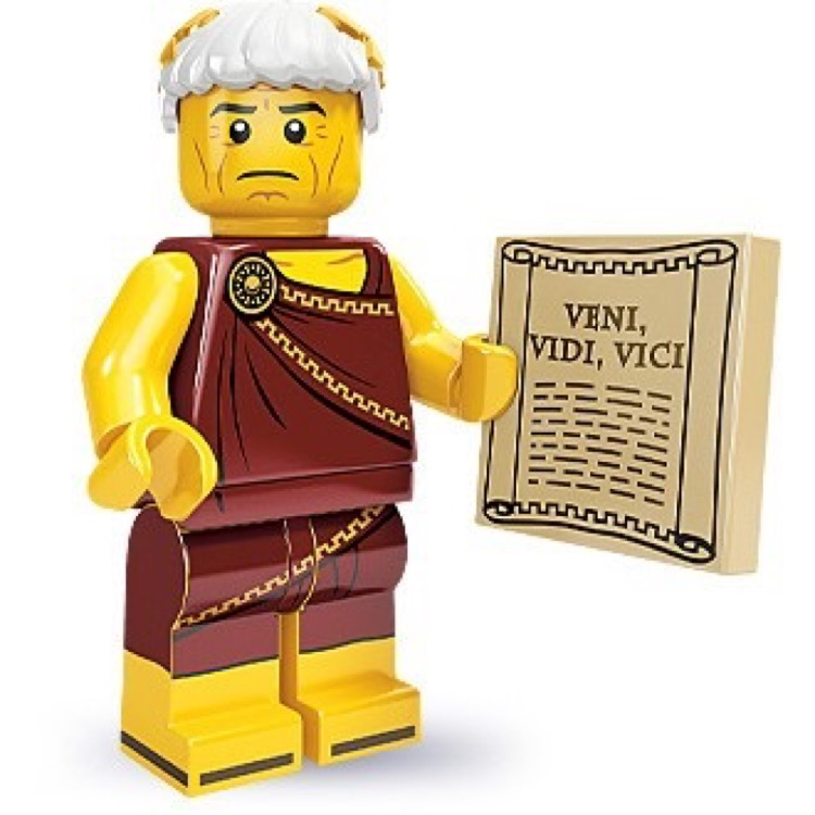 LEGO Collectible Minifigures: 71000 Series 9 Roman Emperor NEW