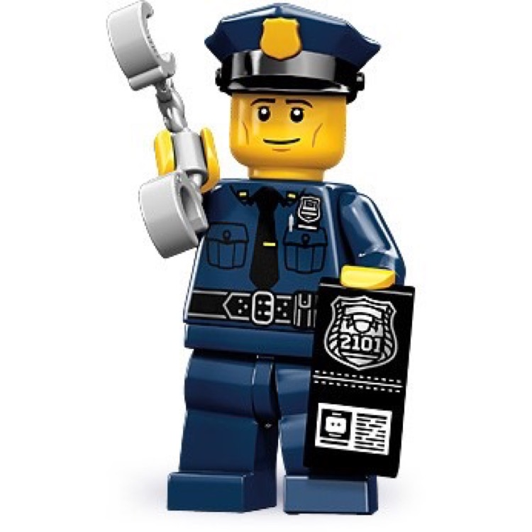 LEGO Collectible Minifigures: 71000 Series 9 Policeman NEW