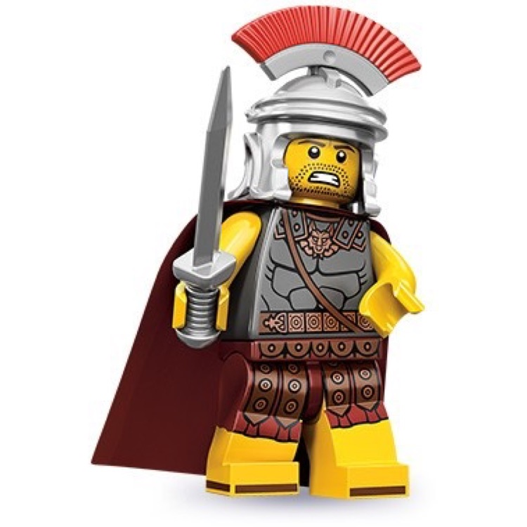 LEGO Collectible Minifigures: 71001 Series 10 Roman Commander NEW