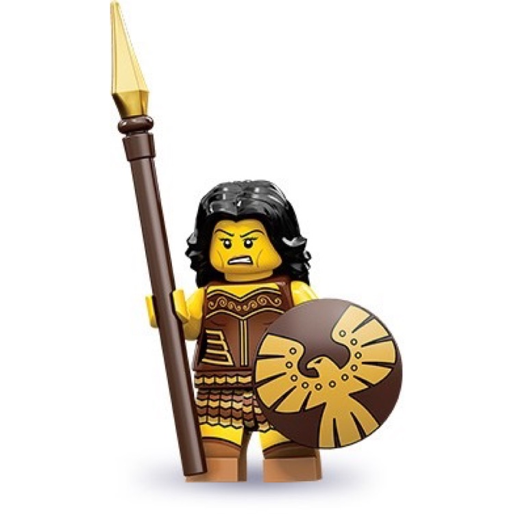 LEGO Collectible Minifigures: 71001 Series 10 Warrior Woman NEW