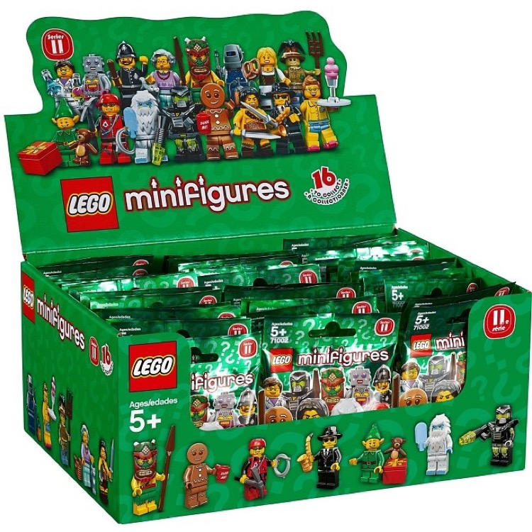 LEGO Collectible Minifigures: 71002 Series 11 (Sealed Box of 60) NEW