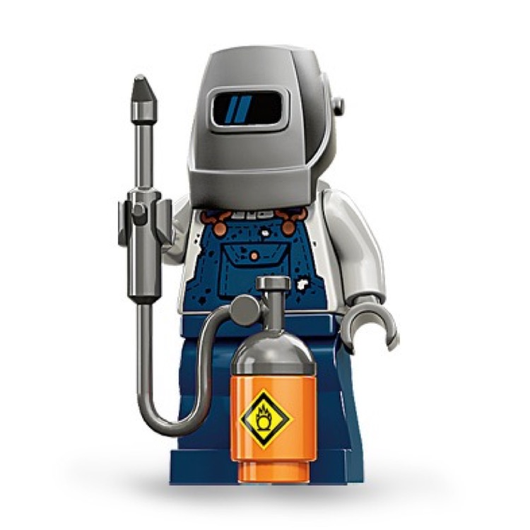 LEGO Collectible Minifigures: 71002 Series 11 Welder NEW