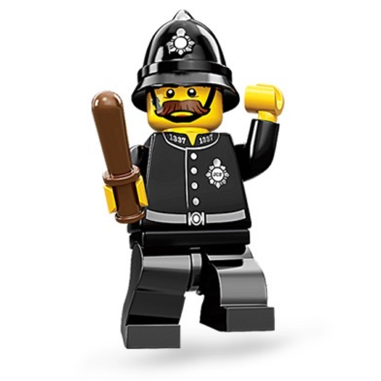 LEGO Collectible Minifigures: 71002 Series 11 Constable NEW
