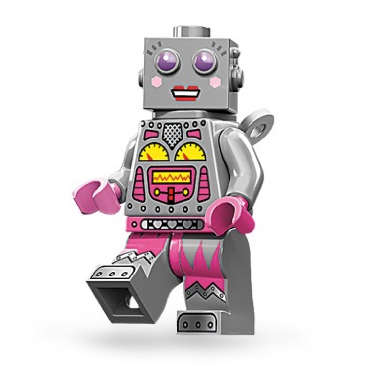 LEGO Collectible Minifigures: 71002 Series 11 Lady Robot NEW