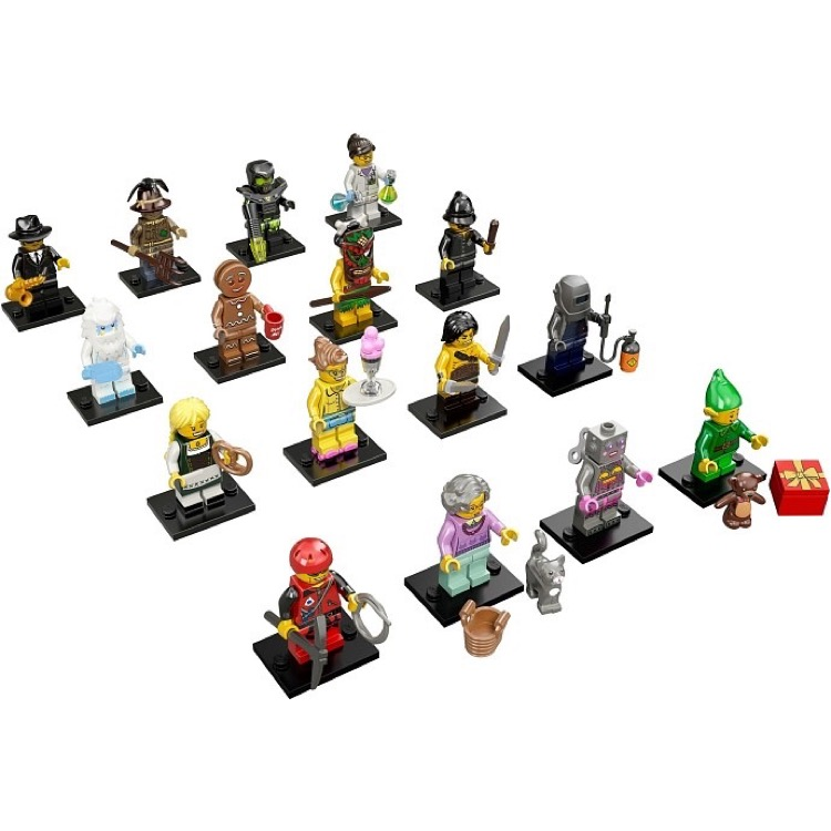 LEGO Collectible Minifigures: 71002 Series 11 Collection of all 16 NEW