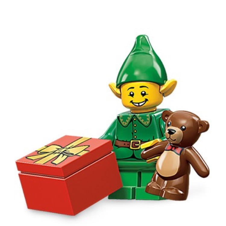 LEGO Collectible Minifigures: 71002 Series 11 Holiday Elf NEW