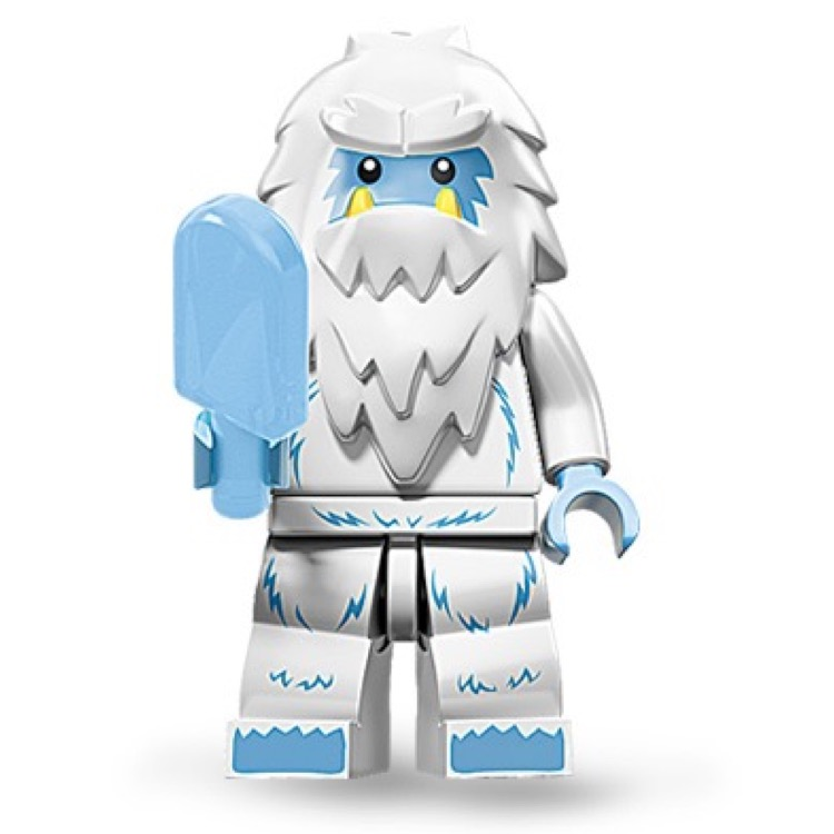 LEGO Collectible Minifigures: 71002 Series 11 Yeti NEW