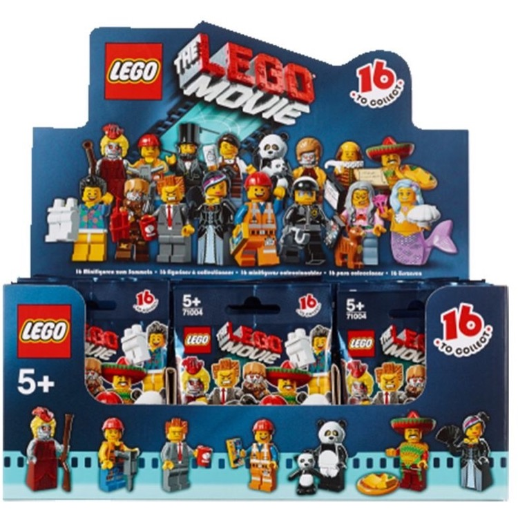 lego collectible minifigures 71004 the lego movie series sealed