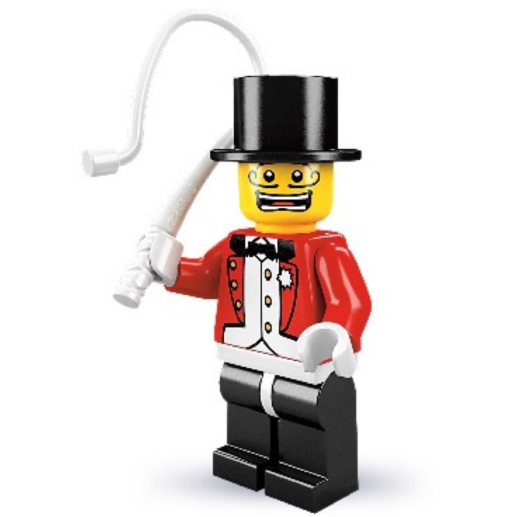 LEGO Collectible Minifigures: 8684 Series 2 Ringmaster NEW