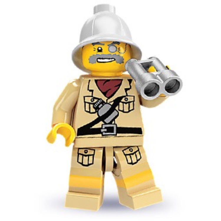 LEGO Collectible Minifigures: 8684 Series 2 Explorer NEW
