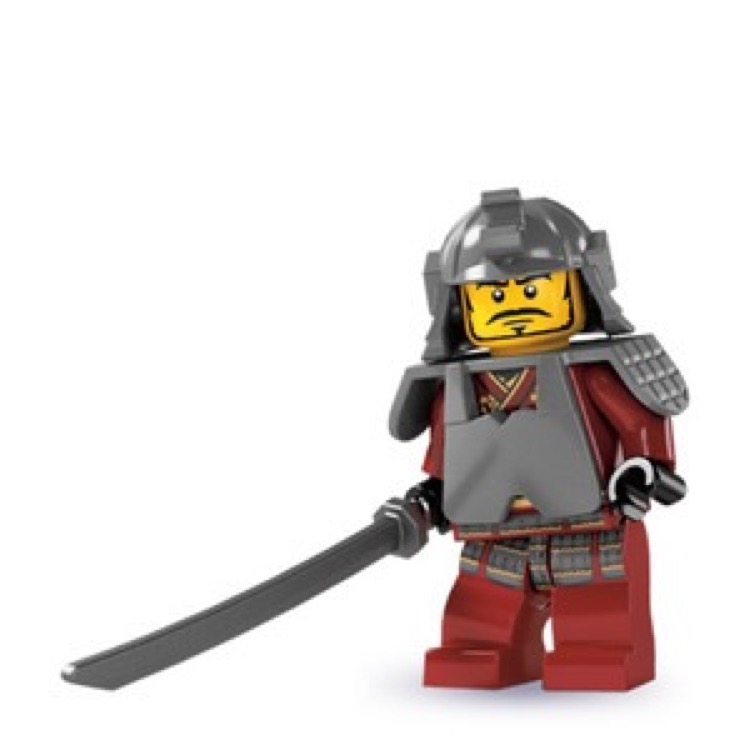LEGO Collectible Minifigures: 8803 Series 3 Samurai Warrior NEW