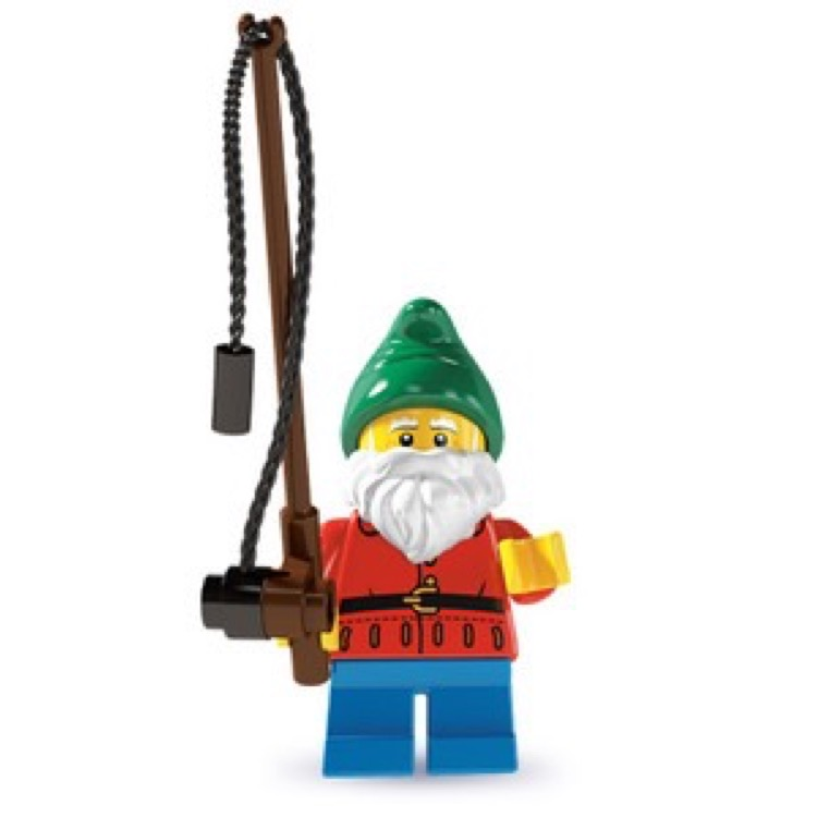 LEGO Collectible Minifigures: 8804 Series 4 Lawn Gnome NEW