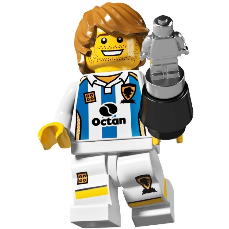 LEGO Collectible Minifigures: 8804 Series 4 Soccer Player NEW