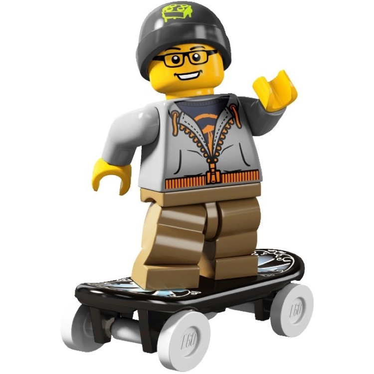 LEGO Collectible Minifigures: 8804 Series 4 Street Skater NEW