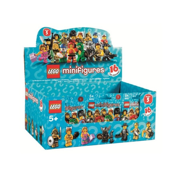LEGO Collectible Minifigures: 8805 Series 5 (Sealed Box of 60) NEW
