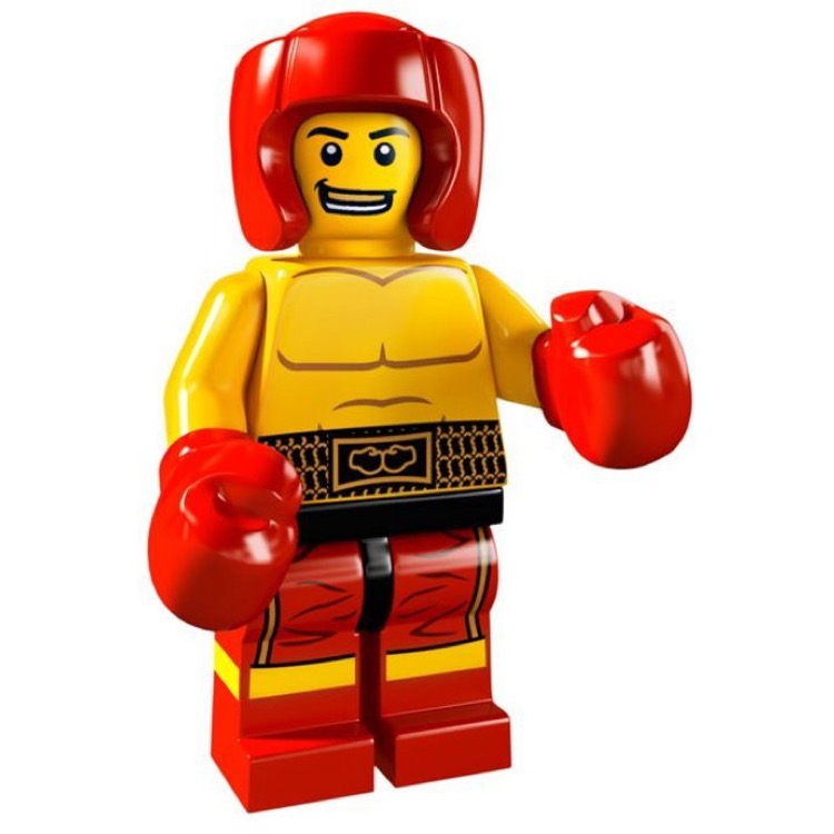 LEGO Collectible Minifigures: 8805 Series 5 Boxer NEW