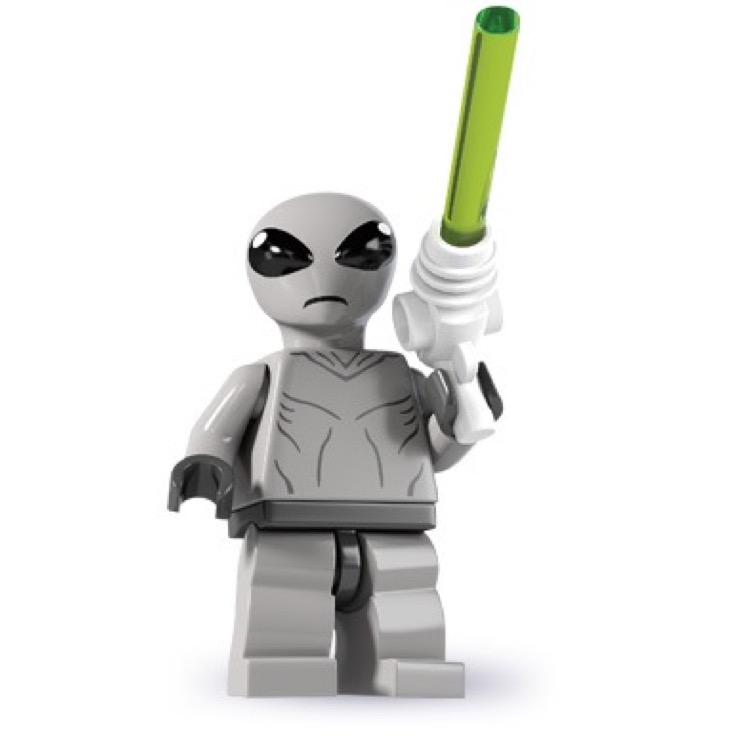 LEGO Collectible Minifigures: 8827 Series 6 Classic Alien NEW