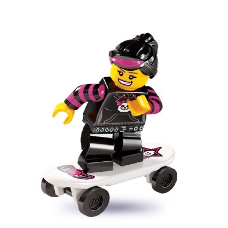 LEGO Collectible Minifigures: 8827 Series 6 Skater Girl NEW