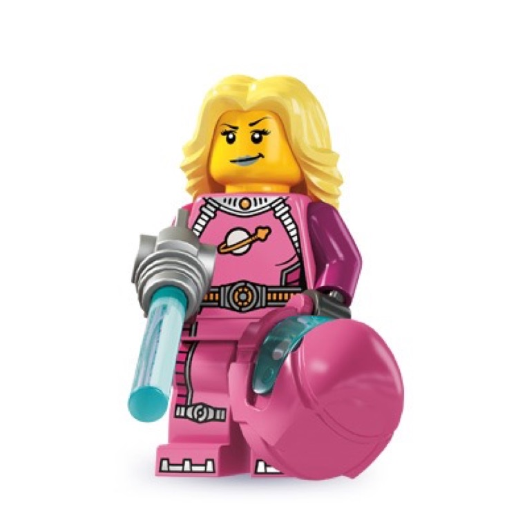 LEGO Collectible Minifigures: 8827 Series 6 Intergalactic Girl NEW