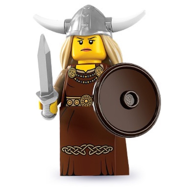 LEGO Collectible Minifigures: 8831 Series 7 Viking Woman NEW