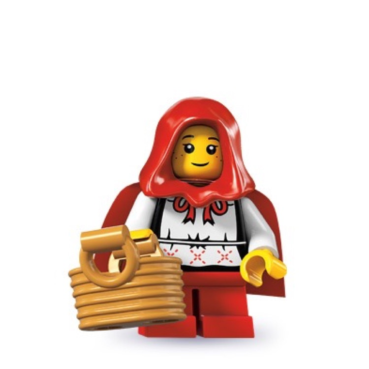 LEGO Collectible Minifigures: 8831 Series 7 Grandma Visitor NEW