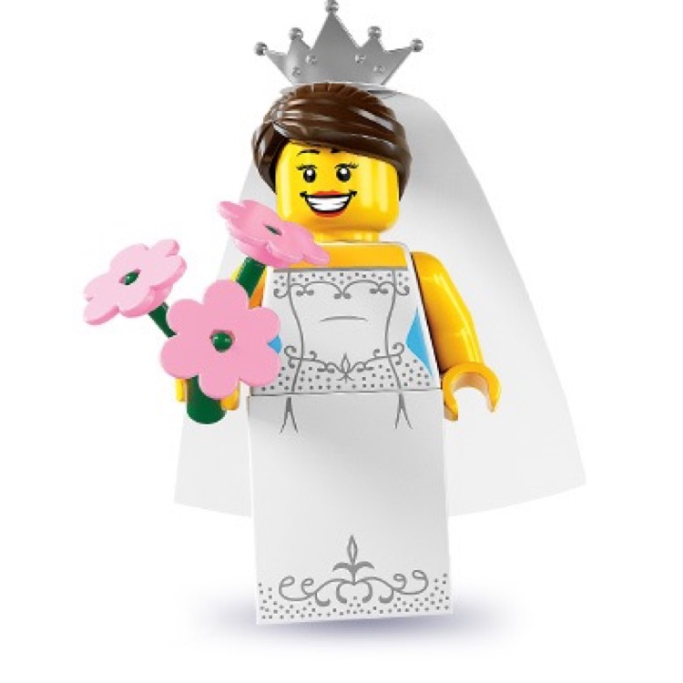 LEGO Collectible Minifigures: 8831 Series 7 Bride NEW