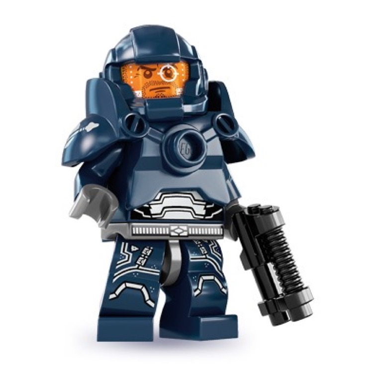 LEGO Collectible Minifigures: 8831 Series 7 Galaxy Patrol NEW