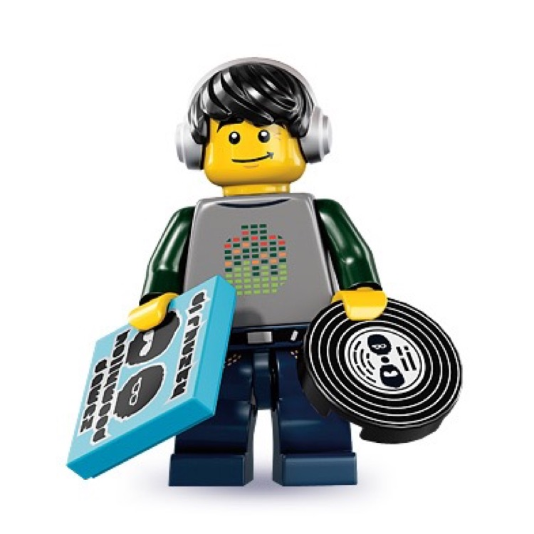 LEGO Collectible Minifigures: 8833 Series 8 DJ NEW