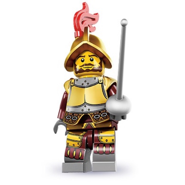 LEGO Collectible Minifigures: 8833 Series 8 Conquistador NEW