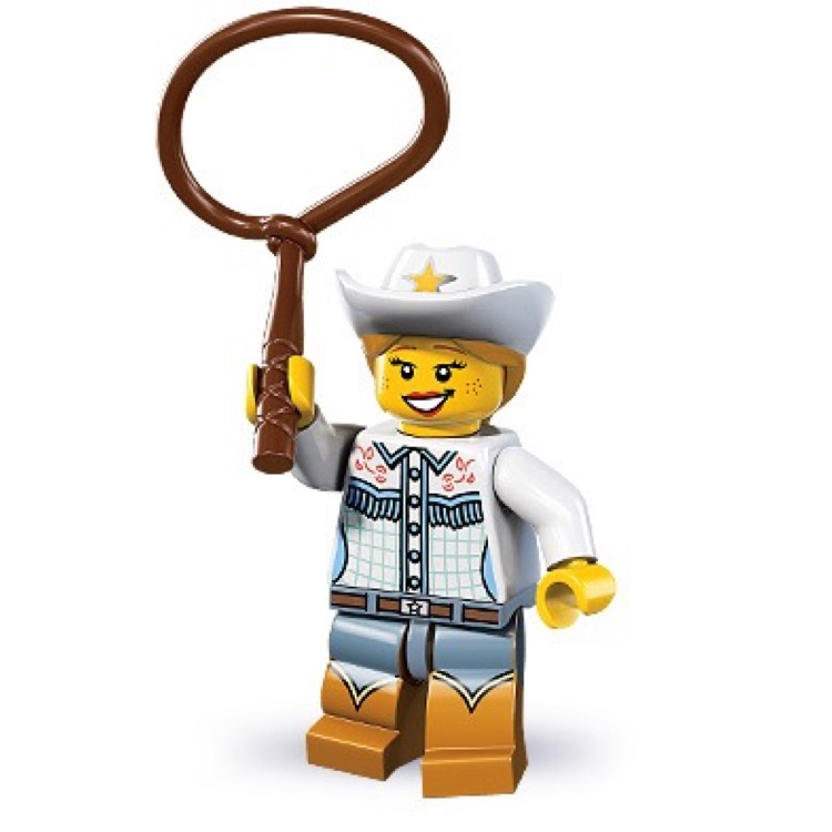 LEGO Collectible Minifigures: 8833 Series 8 Cowgirl NEW