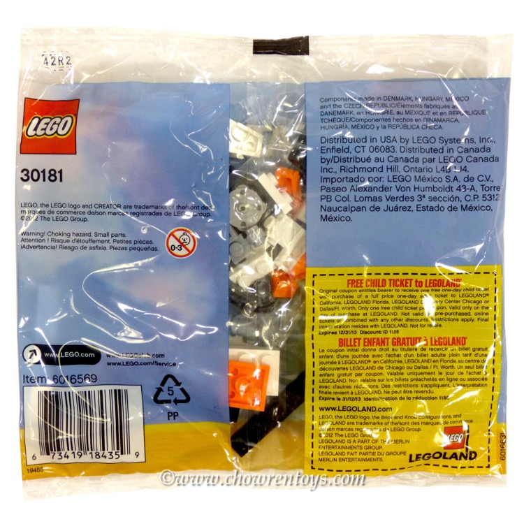 Lego Creator Sets 30181 Helicopter New