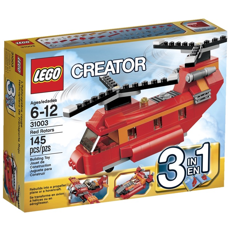 LEGO Creator Sets: 31003 Red Rotors NEW