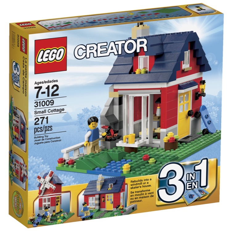 LEGO Creator Sets: 31009 Small Cottage NEW
