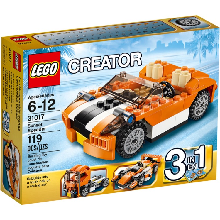LEGO Creator Sets: 31017 Sunset Speeder NEW *Damaged Box*