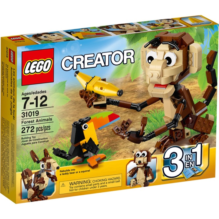 LEGO Creator Sets: 31019 Forest Animals NEW