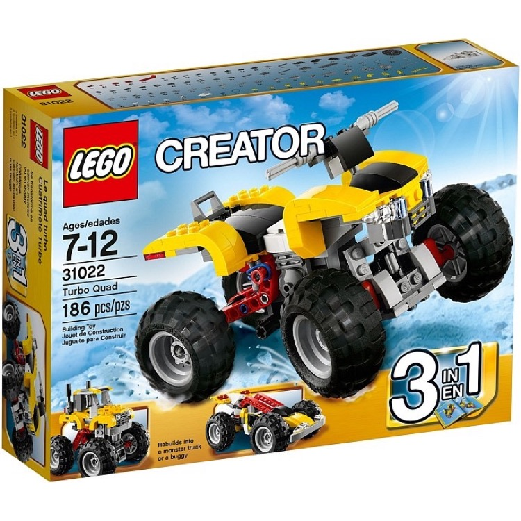 LEGO Creator Sets: 31022 Turbo Quad NEW