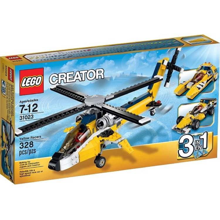 LEGO Creator Sets: 31023 Yellow Racers NEW (SOLD OUT)