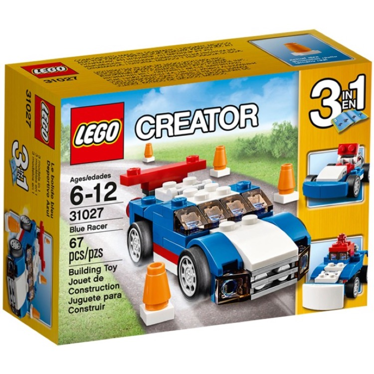 LEGO Creator Sets: 31027 Blue Racer NEW