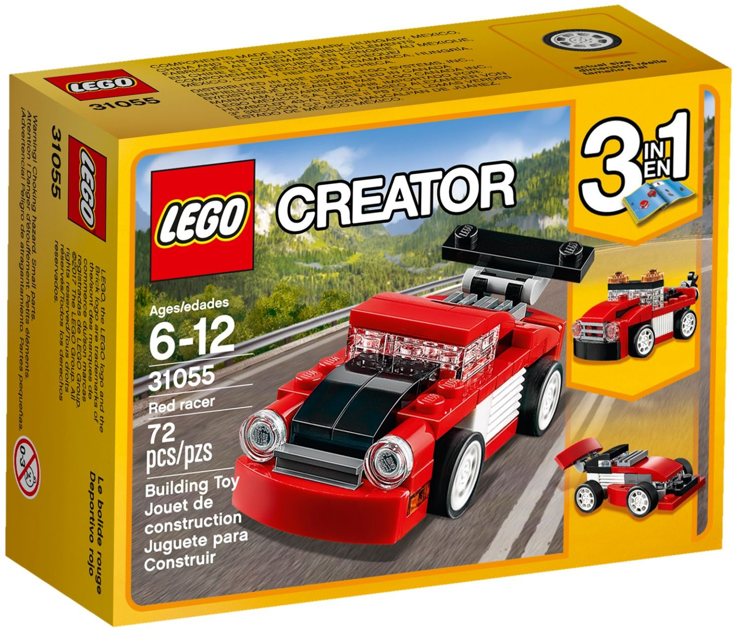Lego Creator Sets 31055 Red Racer New