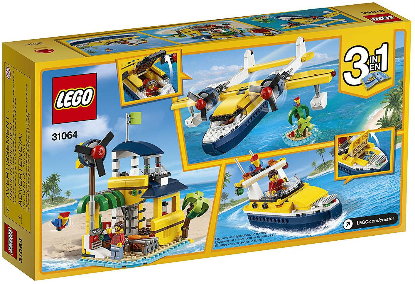lego creator sets 31064 seaplane adventures new. Black Bedroom Furniture Sets. Home Design Ideas