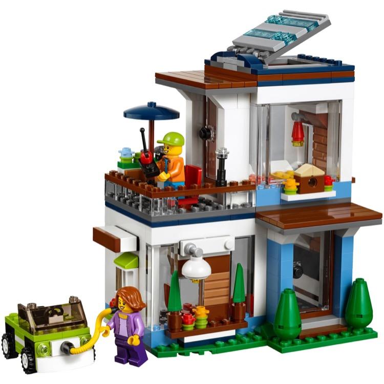 lego creator sets 31068 modular modern home new. Black Bedroom Furniture Sets. Home Design Ideas