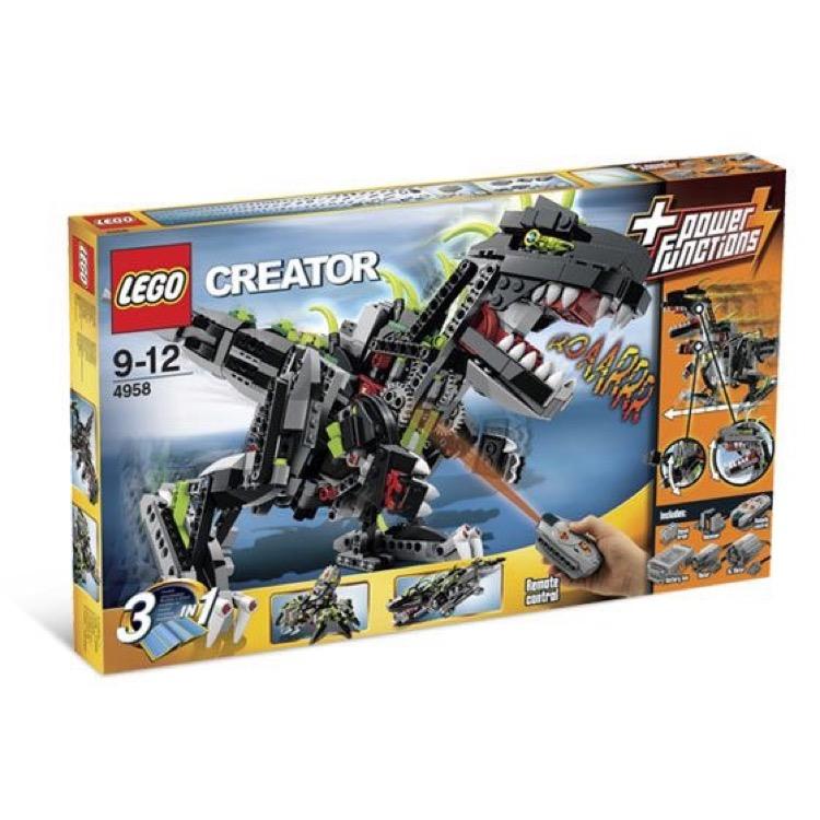 lego creator sets 4958 monster dino new damaged box. Black Bedroom Furniture Sets. Home Design Ideas